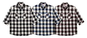 3:4 BLOCK CHECK SHIRTS